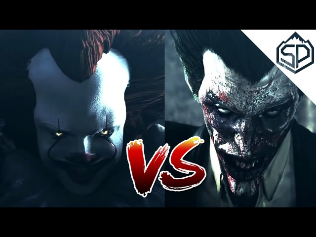 Пеннивайз (Оно) vs. Джокер | Битва клоунов