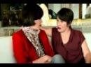 Milla Jovovich and her mother at Russian show interview Сегодня вечером с Андреем Малаховым