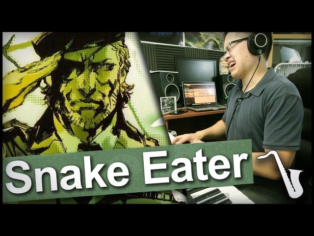 Metal Gear Solid 3 Snake Eater Jazz Arrangement insaneintherainmusic