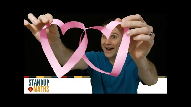 Romantic Mathematical Shape: möbius-loop hearts