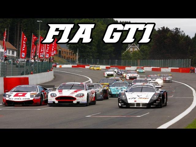 FIA GT1 best of - MC12, C6R, DBR9, Murcielago, 550, S7R, ...