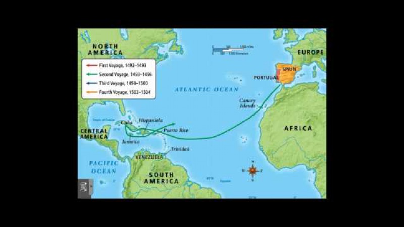 Christopher Columbus Exploration: 1492-1504