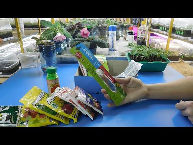 🌹🌹🌹ЛУЧШИЕ ПРЕПАРАТЫ ДЛЯ ЦВЕТОВ И РАССАДЫ ! МОЯ АПТЕЧКА ЦВЕТОВОДА ! Помощь для растений
