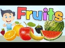 FRUITS in ENGLISH for kids