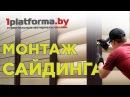 Монтаж сайдинга VOX Сайдинг Сайга как правильно монтировать