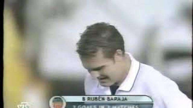 02.10.2002 Лига чемпионов 1 групповой турнир 3 тур Валенсия (Испания) - Базель (Швейцария) 6:2