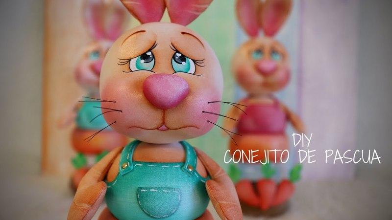 Gemas Foamy_Diy Conejito de Pascua
