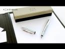 S0908640 Перьевая ручка Parker Паркер IM Premium Shiny Chrome F