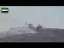 Сирия Сентябрь 2014 Обстрел поста САА из буксируемой РСЗО Тип 63