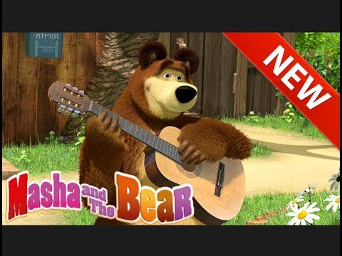 Masha and the Bear 2017 video in English new series of cartoon game episode 5 Hit of the season