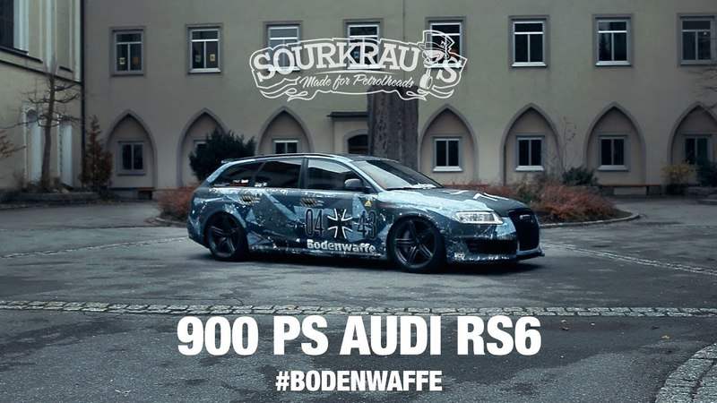 900 PS Audi RS6 - BODENWAFFE (engl.sub)