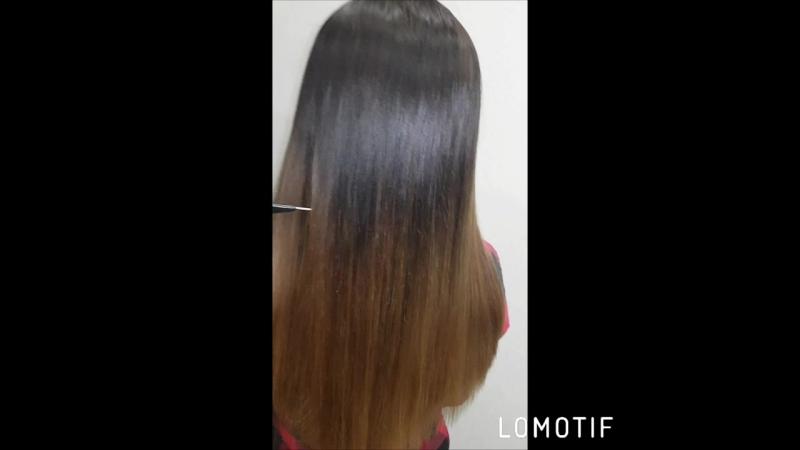Ботокс волос💖Состав смыт полностью,процедура завершена☝️Восстанавлием волосы после осветления😣