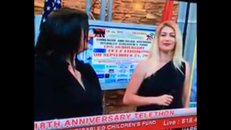 Arpine Bekjanyan - Ankax Hayastan, Es puchur em, voskejur em Baregorcakan maraton (Artn-Shant TV) (21.09.2017)