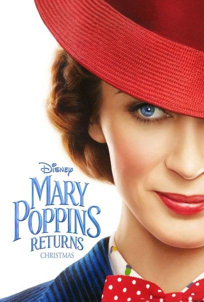 Постер и первый тизер «Мэри Поппинс возвращается».