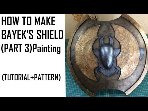 Assassin's creed Origins Bayek's SHIELD. How to make (PART 3)