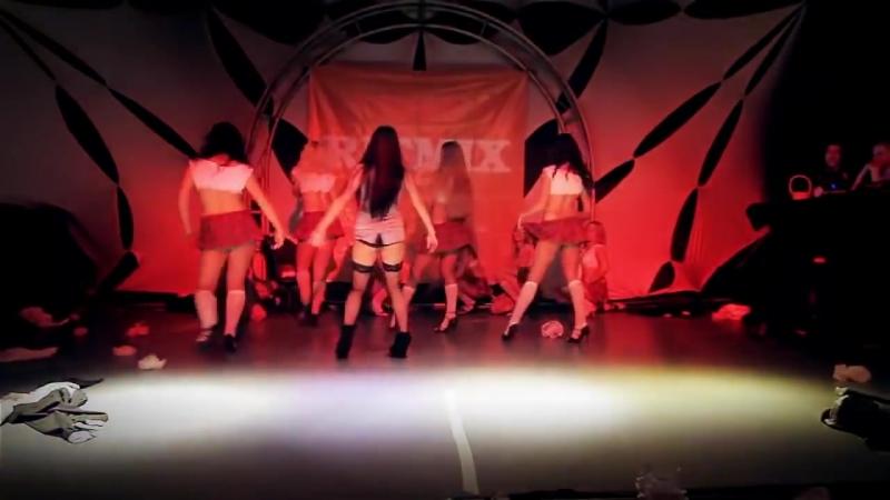 Школьницы Последний звонок Стриптиз Сексуальный танец