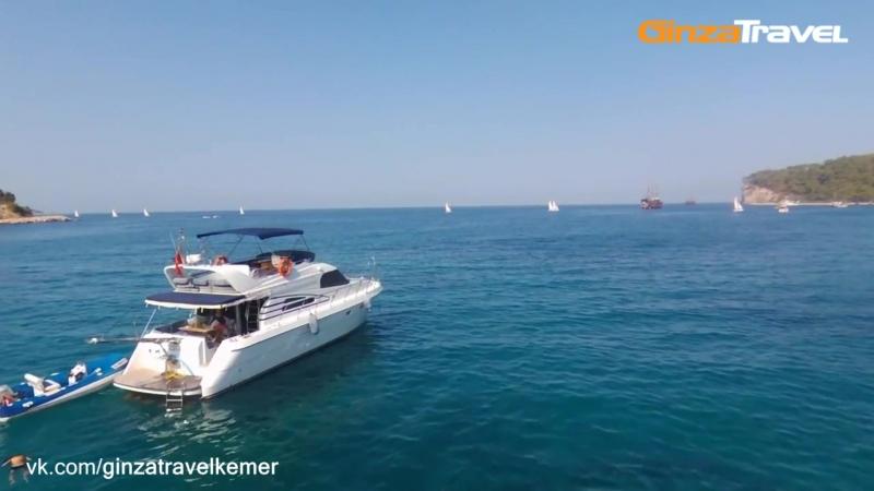 Индивидуальная прогулка на яхте «Tu Navy» | Экскурсии в Турции из Кемера от «Ginza Travel»