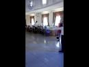 Репетиция перед началом свадьбы