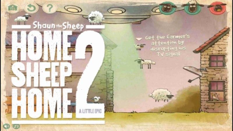 Игра Баранчик Шон в Космосе смотреть онлайн видео для детей shaun the sheep в космосе бесплатно