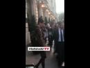 Белла покидает отель «Royal Monceau», Париж (02.03.18)