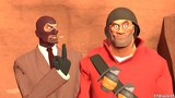 Spy vs Soldier Team Fortress 2