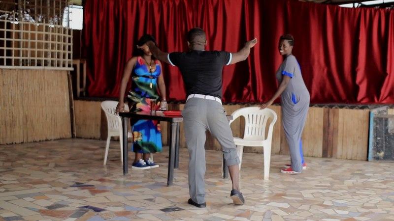 King Kong MC of Uganda Dancing to LAGADAT by Toño Negron