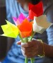 Объемные тюльпаны - отличный подарок на 8 марта