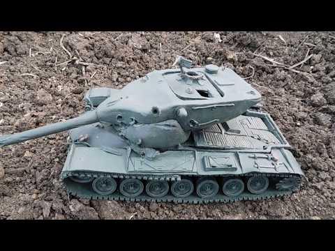 T57 Heavy из пластилина и супер экипаж дед пуль гамбургер ковбой и ксеноморф-ондатра сутулая