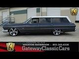 1963 Chevrolet Bel Air - Gateway Classic Cars of Houston - stock 457-HOU