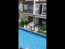 Общий бассейн в китайском поселке