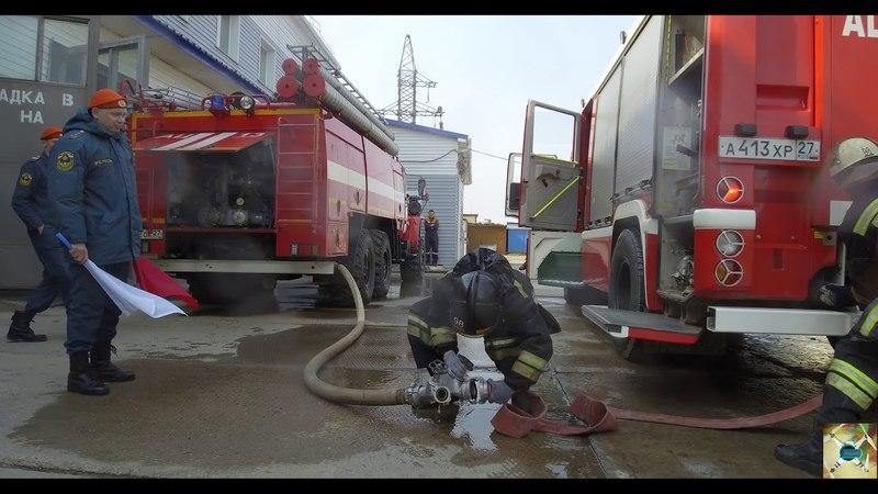 пожарный биатлон ПСП-98 Комсомольск-на-Амуре
