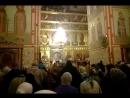 Софийско-Успенский собор - Песнь Пресвятой Богородицы Честнейшую Херувим знаменный распев - Live Тобольск