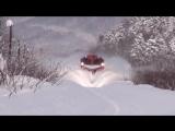 Снегоборьба на железных дорогах в европейских странах