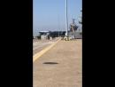 Группа во главе с авианосцем Harry S. Truman покидает военно-морскую базу Норфолк