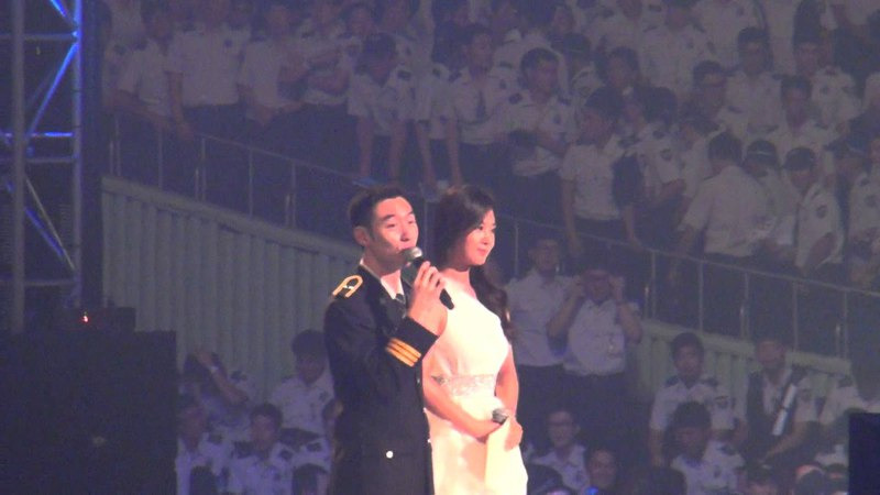 28.08.2013 || National Auxiliary Police Unison Festival (Lee Je Hoon, Kwon Yuri)