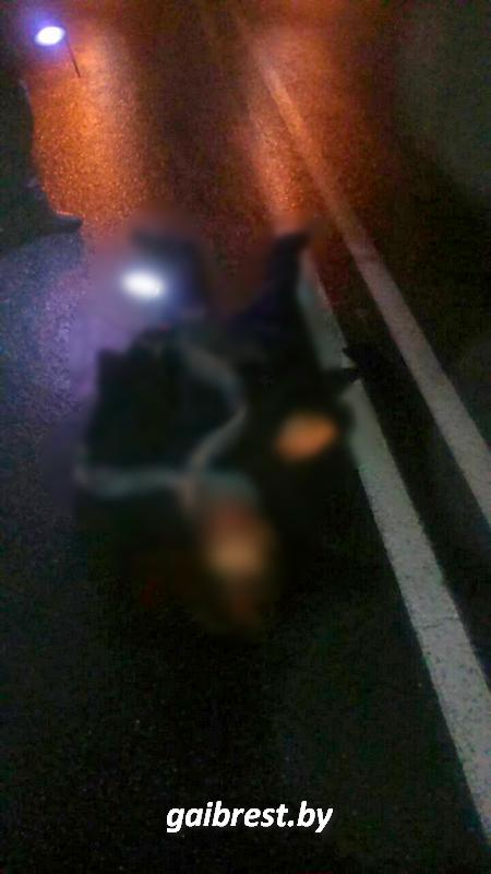 Фура сбила насмерть парня в Лунинецком районе