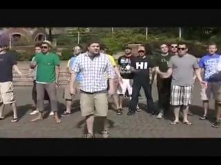 Пародия от фанатов! оч круто поют) на песню леди гага! бэд ромэнс!