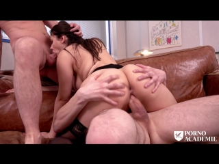 Valentina Nappi - MMF ANAL THREESOME WITH TEACHER VALENTINA NAPPI [Anal, DP, Blowjob, All Sex]