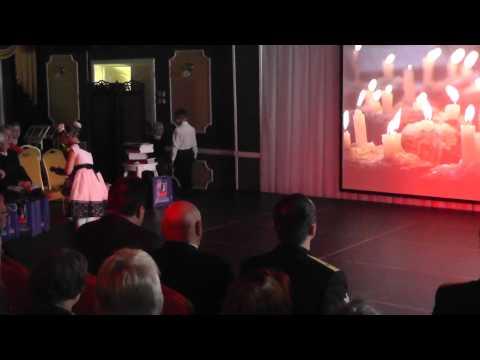 Там, где идет война. Захарова Анна, выступление на концерте посвященному 9 мая