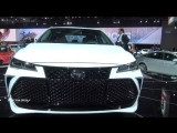 2019 Toyota Avalon TRG - Exterior And Interior Walkaround - 2018 Detroit Auto Show