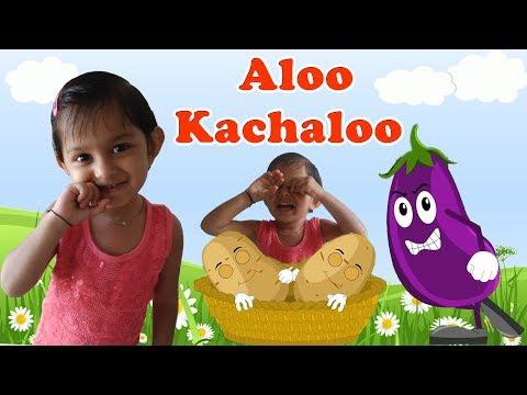 आलू कचालू बेटा Aloo Kachaloo Kahan Gaye The Nursery Hindi Rhymes Kids Video Jeny Nada