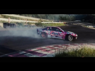 Drift Vine   Nissan Silvia s14 Naoki Nakamura at Link Circuit