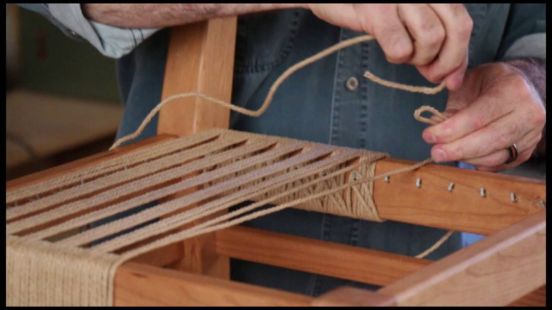 OnlineEXTRA My First Chair Weaving Lesson
