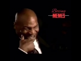 Реакция Тайсона на травму Мэйвезера / Reaction of Mike Tyson on the Injury of Floyd Mayweather