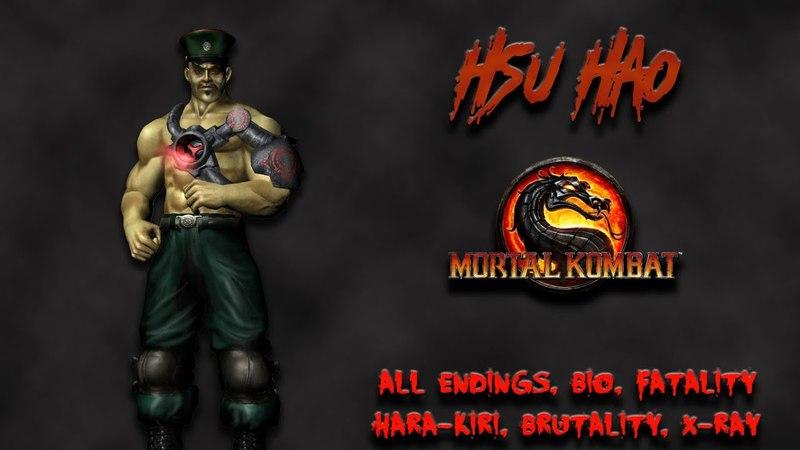 Mortal Kombat - All Fatality, Bio, Ending - Hsu Hao