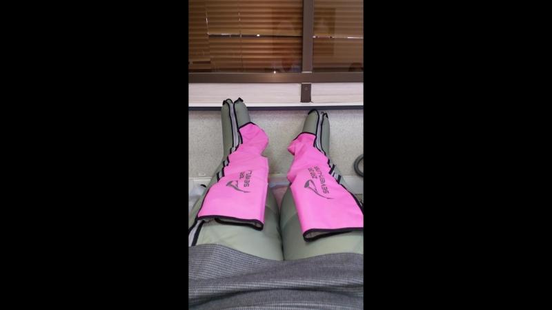 Прессотерапия на ноги