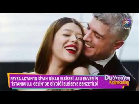 Feyza Aktan Özcan Deniz ile Evlendi Soyadı Modasına Uydu