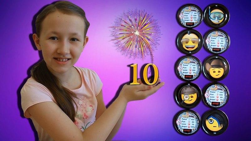 Все 10 Железных Фишек Чипикао Эмоджи в одном видео I Получилось 2018 New Metal Emoji Chipicao Chips