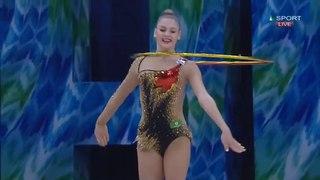 Aleksandra Soldatova - Hoop Final - WC Tashkent 2018