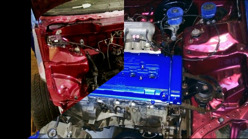 Хонда сивис B20Vtec